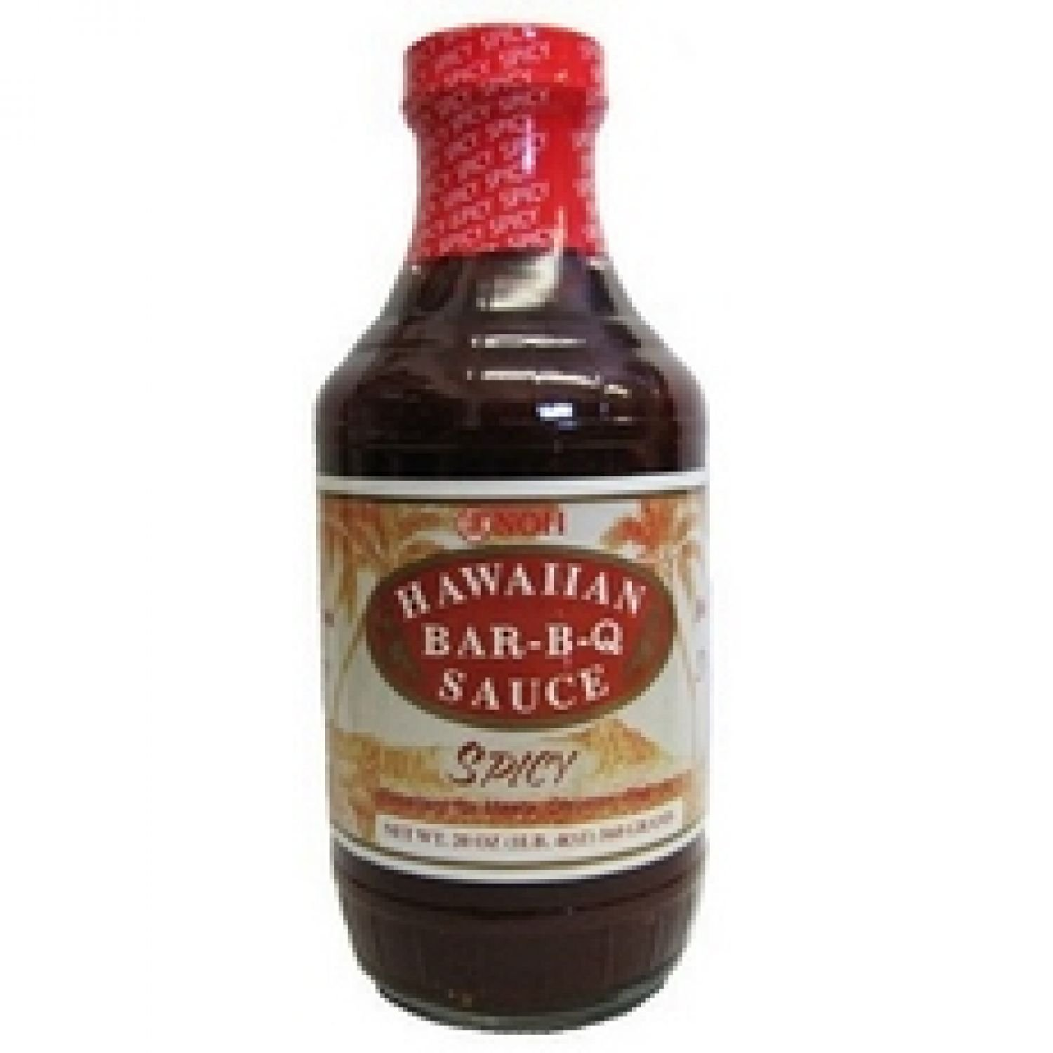 NOH of Hawaii Spicy Bar-B-Q Sauce, 20 Ounce жидкость surfing 60 мл 0 мг hawaii