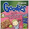 Organix Goodies 1 Year+Organic Raspberry and Apple Soft Oaty Bars 6 x 30 g (Pack of 6, Total 36 Bars)