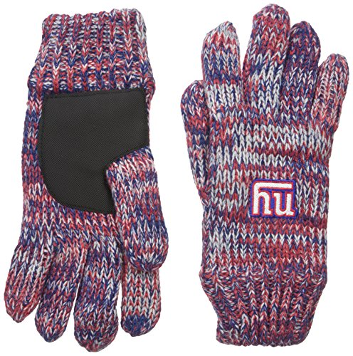 NFL New York Giants Peak Glove, Blue (New York Giant Gloves compare prices)