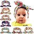 Quest Sweet® Baby Elastic Cloth Rabbit Ears Headdress Girl\'s Soft Turban Headbands