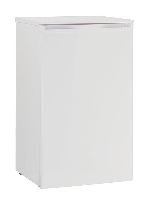 Severin KS 9893 Réfrigérateur de table Classe énergétique A+/ 164 kWh/an Capacité totale réfrigérateur 87l Capacité totale congélateur 11 l Blanc