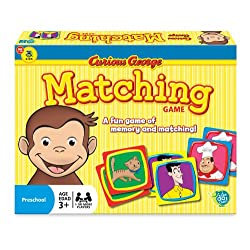 [Best price] Novelty & Gag Toys - Curious George Matching Game - toys-games