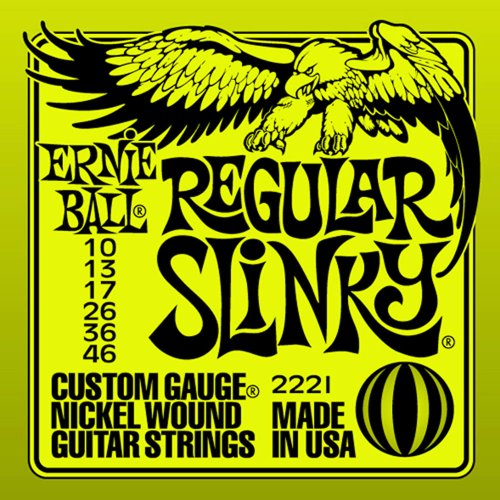 Ernie Ball Regular Slinky String Set (10 - 46)
