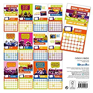 Official Gogglebox 2016 Square Calendar