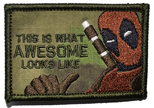 This is What Awesome Looks Like, Deadpool Parody - 2x3 Morale Patch (Atacs FG)
