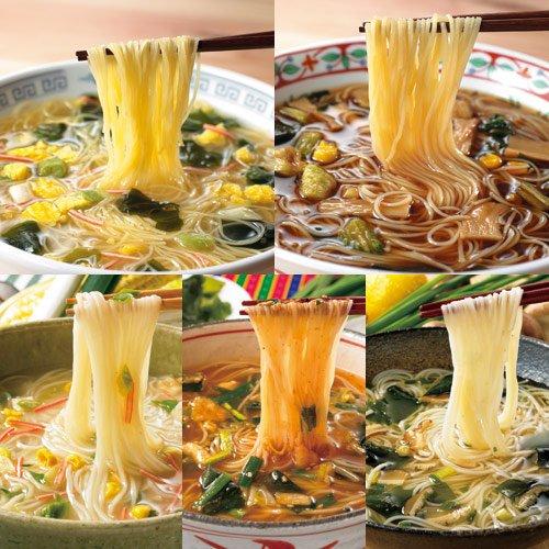 ローカロ生活 ローカロ麺(5種×6食)