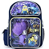 Despicable Me Evil Minion Purple 16 Backpack - NEW Licensed