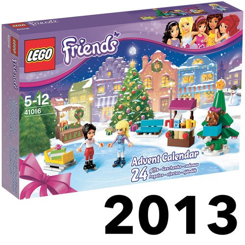 Lego New Friends Advent Calendar for Christmas Xmas 2013 24 Girls Gift Toy Good Gift to Your Lovely Fast Shipping Ship Worldwide From Hengheng Shop