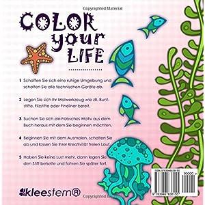 Malbuch für Erwachsene: Wundervolle Meereswelt zum Ausmalen, Entspannen & Ruhen