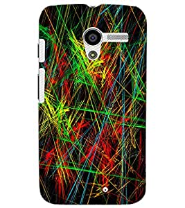 MOTOROLA MOTO X ART Back Cover by PRINTSWAG