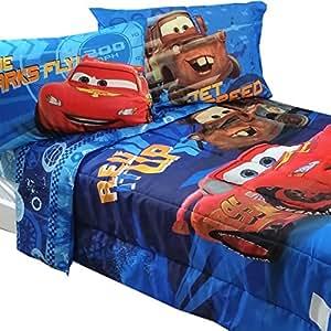 bedding set lightning mcqueen city limits comforter and sheet set