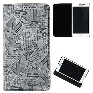 DooDa PU Leather Flip Case Cover For Nokia Lumia 430 Dual Sim