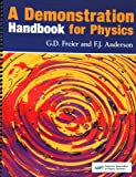 img - for A Demonstration Handbook for Physics by George D. Freier (1981-08-02) book / textbook / text book