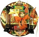 Give Thanks, Fall Platter Gift Basket for Thanksgiving