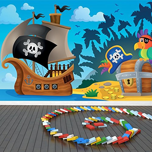 ship-parrot-treasure-chest-cartoon-pirate-wall-mural-kids-photo-wallpaper-available-in-8-sizes-small