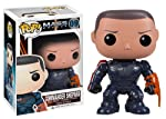 Funko Pop Games Mass Effect Commander Shepard Vinyl Figure, Multi Color