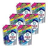 【ケース販売】 アリエール 洗濯洗剤 液体 イオンパワージェル サイエンスプラス 詰替用 超特大サイズ 1.35kg×6個
