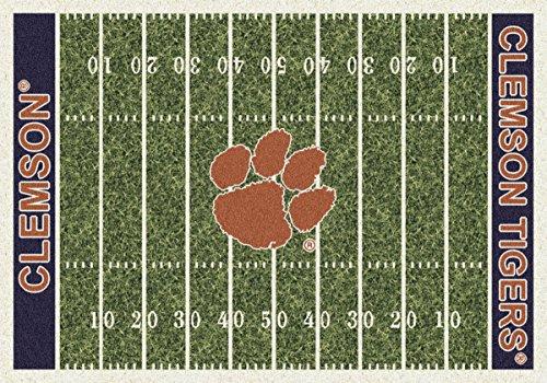 Clemson Tigers Milliken NCAA Home Field Area Rug (10'9