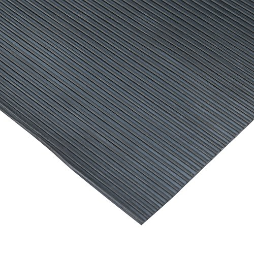 rubber-cal-03-167-w-rc-04-ramp-cleat-non-slip-outdoor-rubber-floor-mats-1-8-thick-x-3-x-4-black