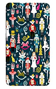 Omnam Boy Girl Pattern Printed Designer Back Cover Case For Gionee S6