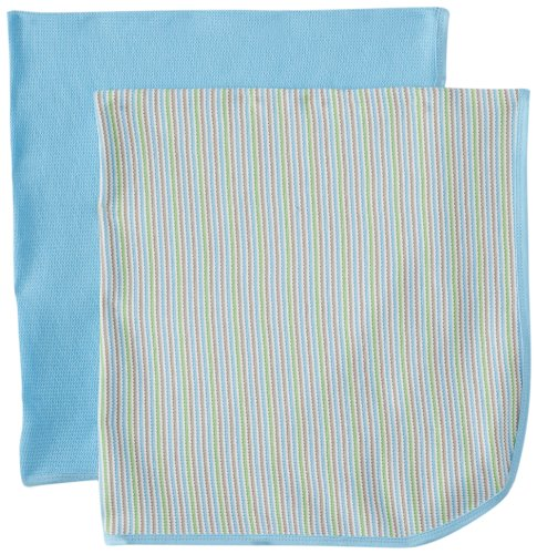 Gerber Baby-Boys Newborn 2 Pack Thermal Blanket