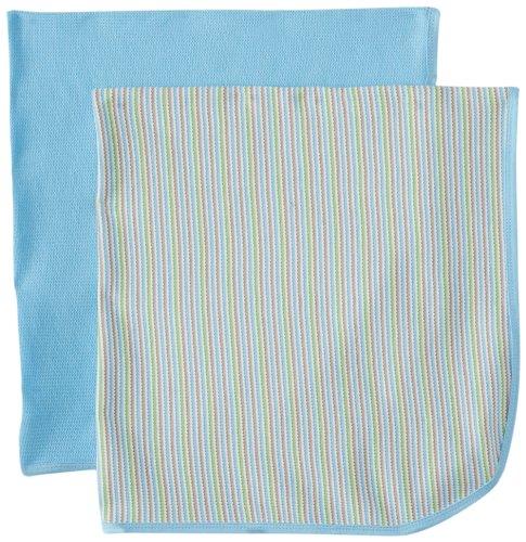 Gerber Baby-Boys Newborn 2 Pack Thermal Blanket - 1