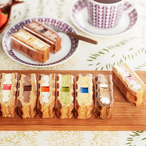 ワッフル・ケーキの店R-L-エール・エル-ワッフルケーキ-10個入り-詰め合わせ