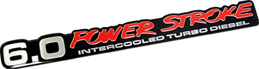 Turbo Diesel Powerstroke Turbo Diesel Emblem Badge