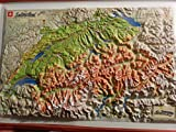img - for Raised Relief 3D Map of Switzerland book / textbook / text book