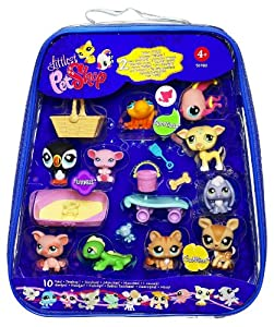 Amazon.com: Littlest pet Shop 10 pack of Pets: Toys & Games