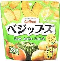 カルビー ベジップス 玉ねぎ かぼちゃ じゃがいも 28g × 12袋