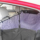 GOGO Dog Auto Travel Back Seat Pet Hammock Easy-Fit Seat Cover - Violet