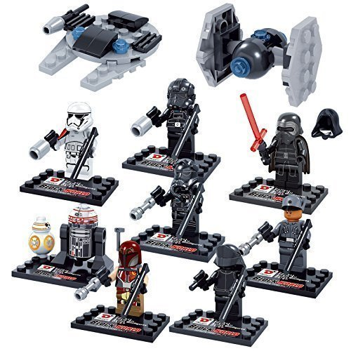 8 Pcs STAR WARS Super Hero Figures Minifigures Toys Compatible With Lego