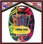 Body Tattoo Glitter Gel Pens And Sten...