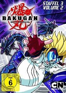 DVD * Bakugan - Spieler des Schicksals: Staffel 3 / Vol. 2 [Import allemand]