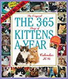 The 365 Days of Kittens a Year 2016 Calendar
