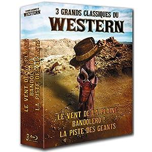 3 grands classiques du Western : Le vent de la plaine + Bandolero ! + La pi