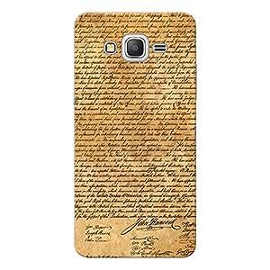 Inkif Printed Designer Case For Samsung Galaxy Grand Prime Multi-Coloured