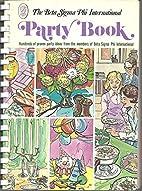 The Beta Sigma Phi International Party Book…