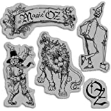Graphic 45 Cling Magic of Oz Stamp, Set 1