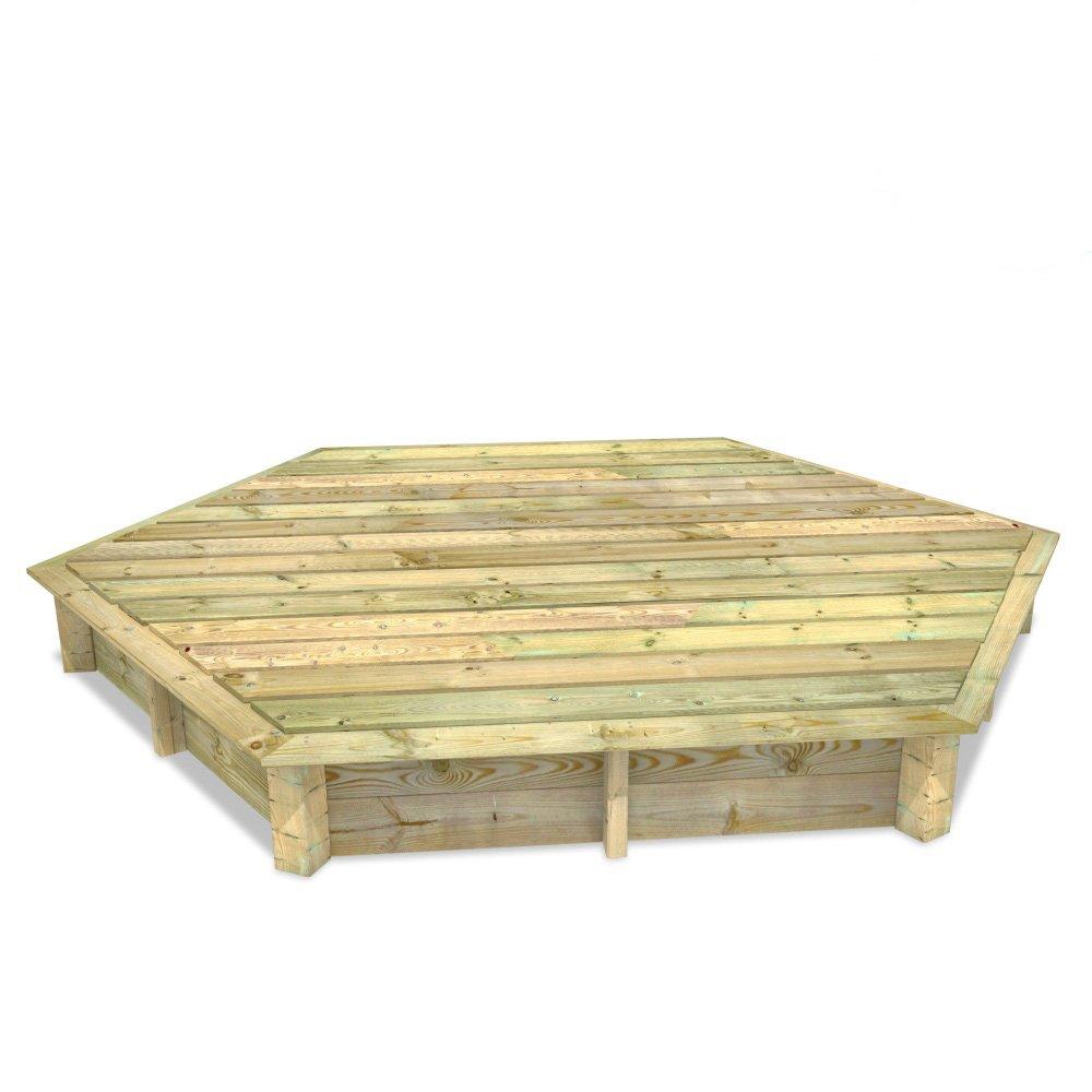 Wickey Olivia 255 (30cm) Sandkasten aus Holz + Deckel jetzt bestellen