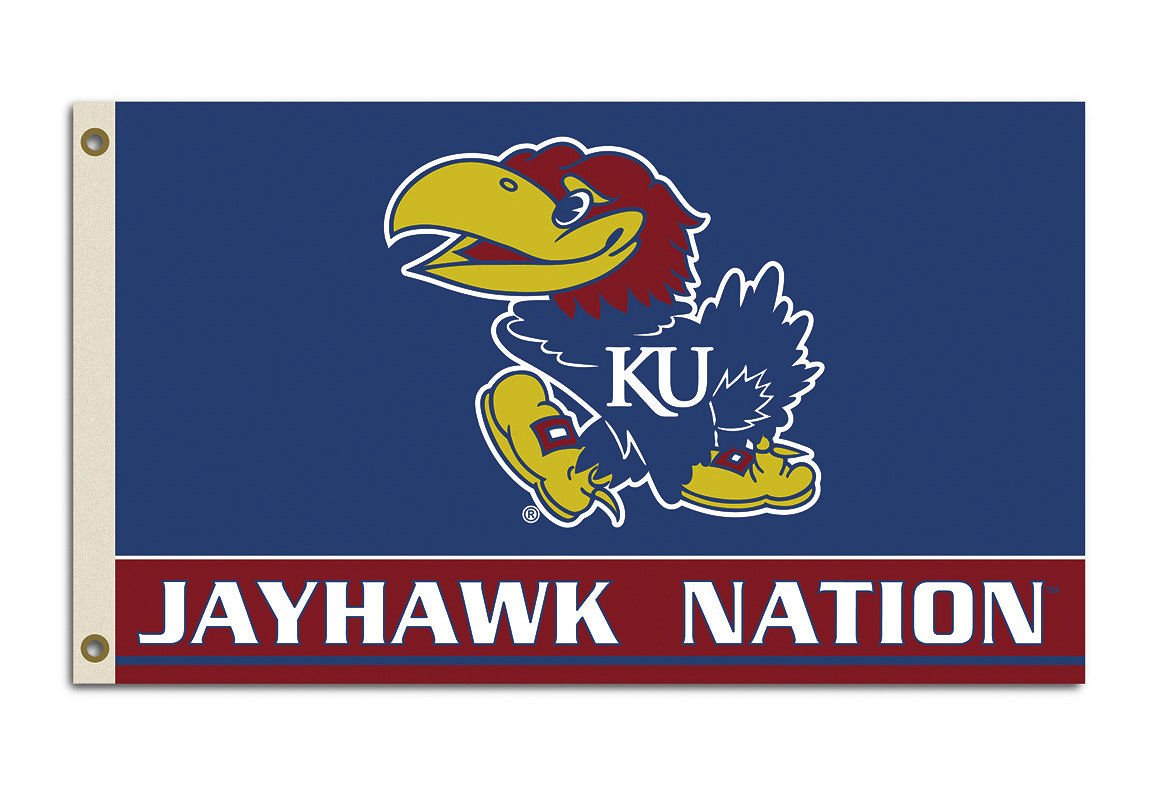 Kansas Jayhawks Nation Flag womens kansas jayhawks running athletic shorts