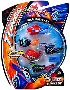 Amazon.com: Dreamworks Turbo Movie Moments Shell Racers ...