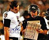 Autographed/Hand Signed Joe Flacco Baltimore Ravens 8x10 Photo at Amazon.com