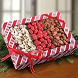 Triple Favorites Chocolate Cherries, Pistachio and Cinnamon Almond Gift Box