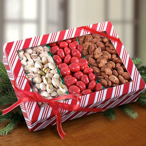 Santa's Favorite Nuts and Sweets Trio