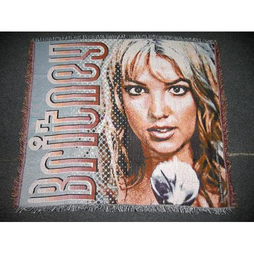 Amazon.com - Brand New Britney Spears Tapestry Woven