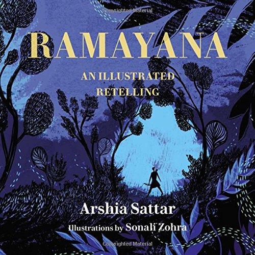 Ramayana: An Illustrated Retelling [Sattar, Arshia] (Tapa Dura)
