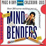Amazing Mind Benders 2015 Page-A-Day Calendar