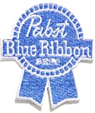 Pabst Blue Ribbon Beer Logo T-shirt Jacket Patch Sew Iron on Embroidered Badge Cloth